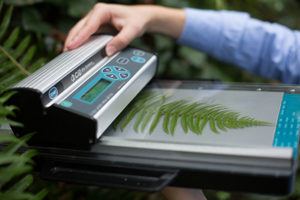 Leaf Area Meter Equipment : Ci portable laser leaf area meter from cid bio science