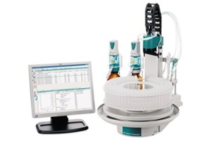 855 Robotic Titrosampler – High-performance titration automation with minimal footprint