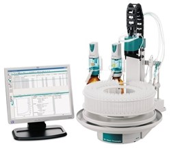 855 Robotic Titrosampler – High-performance titration automation with minimal footprint by Metrohm AG product image