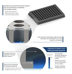 TrueGel3D® HTS Hydrogel Plates for 3D Cell Culture