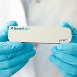 200cm µPAC™ column (C18) by PharmaFluidics product image