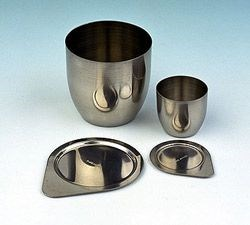 Crucible Lids, Nickel