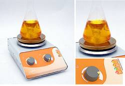 MSH-S series - Heated Magnetic Stirrers - stainless steel hob by Nickel-Electro Ltd thumbnail