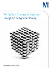 New Inorganics Catalogue by Merck KGaA, Darmstadt, Germany thumbnail