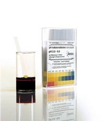 pH indicator strips for turbid solutions by Merck KGaA, Darmstadt, Germany product image