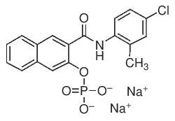 Naphthol AS-TR phosphate disodium salt by Merck KGaA, Darmstadt, Germany product image