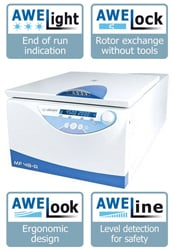 AWEL MF 48-R for Innovation in Centrifugation by AWEL thumbnail