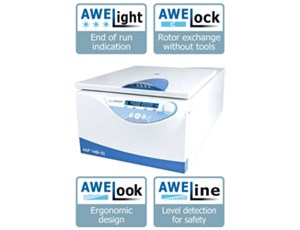 AWEL MF 48-R for Innovation in Centrifugation