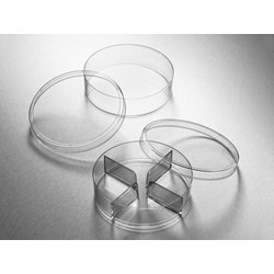 Corning® Gosselin™ Petri Dish 100 x 25 mm, 3 Vents, Sterile, 10/Bag, 500/Case by Corning Life Sciences product image