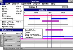 EasyCode® software 3.0 - PC Windows 98, 2000, XP