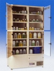 Chemical Storage Cabinets by Labcaire Systems Ltd thumbnail
