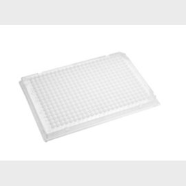 Axygen® 384 Well Polypropylene PCR Microplate, Full Skirt, Clear, Nonsterile by Corning Life Sciences product image