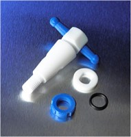 Replacement PTFE Product Standard 4 mm Straight Bore Stopcock Plug Assembly by Corning Life Sciences product image