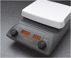 Corning® 5 x 7 Inch Top PC-420D Stirring Hot Plate with Digital Displays, 230V/50Hz by Corning Life Sciences product image
