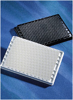 Corning® 1536-well Black Polystyrene Not Treated Microplate, 10 per Bag, without Lid, Nonsterile by Corning Life Sciences thumbnail
