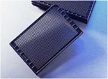 Corning® 1536 Well Black with Clear Flat Bottom Polystyrene Not Treated Microplate, 10 per Bag, without Lid, Nonsterile
