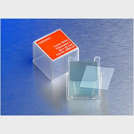 Corning® 18x18 mm Square #1 Cover Glass by Corning Life Sciences product image