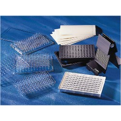 Corning® 96 Well Polycarbonate PCR Microplate Lids, Nonsterile (fits Cat. No. 6511) by Corning Life Sciences product image