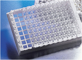Corning® Osteo Assay Surface Polystyrene 1 x 8 Stripwell™ Microplate, 12 Strips per Holder with Lid, Sterile by Corning Life Sciences thumbnail