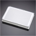 Falcon® 384 Well  Optilux White/Clear Flat Bottom TC-Treated Microtest Microplate, with Lid, Sterile, 5/Pack, 50/Case