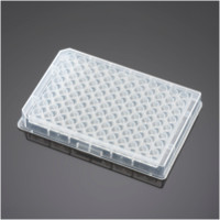 Falcon® 96 Well  Clear V-Bottom Not Treated Polypropylene Microplate, 25/Pack, 100/Case by Corning Life Sciences thumbnail
