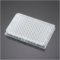 Falcon® 96 Well  Clear V-Bottom Not Treated Polypropylene Microplate, 25/Pack, 100/Case by Corning Life Sciences product image