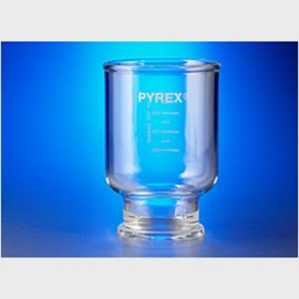PYREX® 300 mL Graduated Funnel, 47 mm, for Assembly with Fritted Glass Support Base by Corning Life Sciences product image