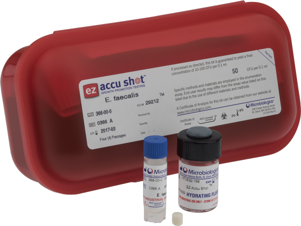 EZ-Accu Shot - Candida albicans derived from ATCC® 10231™ by Microbiologics thumbnail