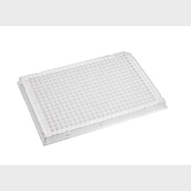 Axygen® 384-well RigiPlate™ PCR Microplate, Full Skirt, Clear, Nonsterile by Corning Life Sciences product image
