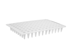 Axygen® 96-well Polypropylene Flat Top PCR Microplate, Low Profile, No Skirt, White, Nonsterile by Corning Life Sciences thumbnail