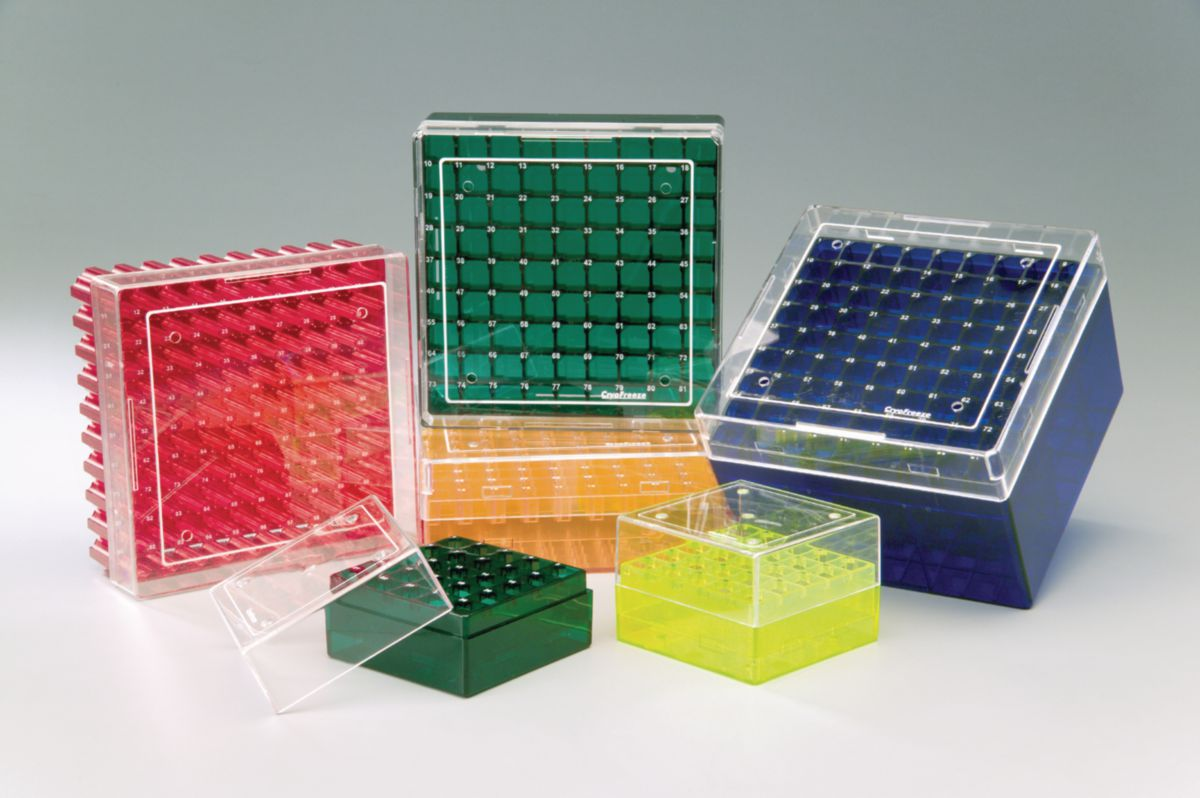 Coloured Polycarbonate Cryogenic Storage Boxes by STARLAB thumbnail