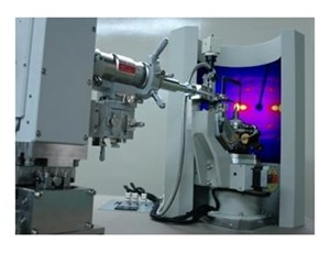 RAPID II: Curved imaging plate chemical crystallography system