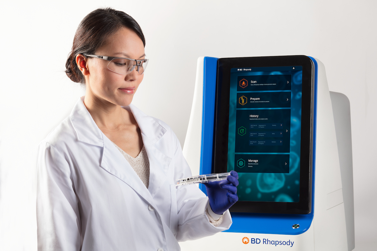 BD Rhapsody™ Single-Cell Analysis System by BD Genomics thumbnail