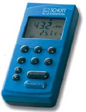 Portable conductivity meters with GLP function handylab LF 11 and LF 12 by Schott Instruments GmbH thumbnail