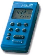 Portable conductivity meters with GLP function handylab LF 11 and LF 12 by Schott Instruments GmbH product image