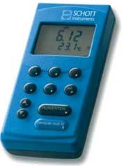 Multi-parameter portable meters with GLP functions handylab pH/LF 12 and handylab multi 12 by Schott Instruments GmbH product image