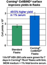 Corning® Cell Culture Surfaces: Corning® CellBIND® Modified Polystyrene Surface