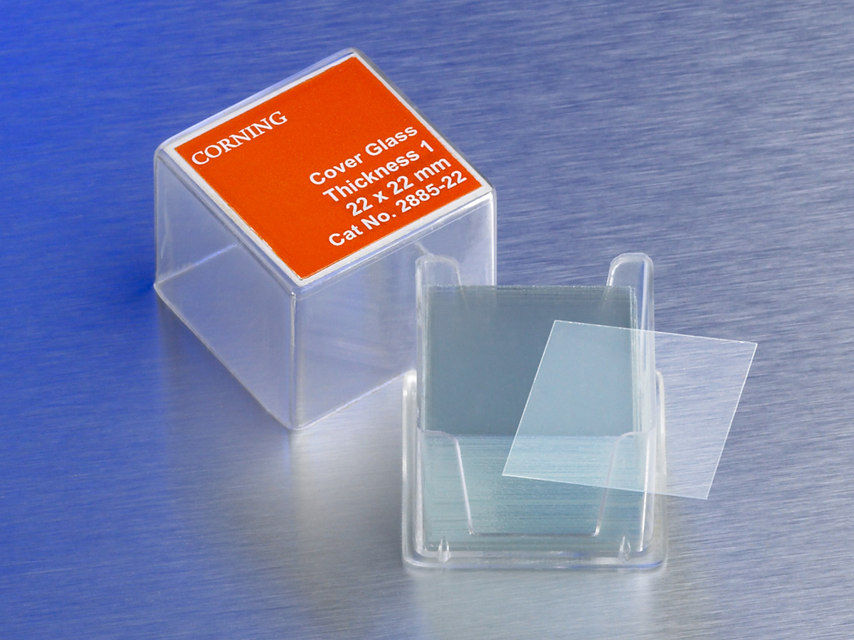 Corning® 18x18 mm Square #1 Cover Glass by Corning Life Sciences thumbnail