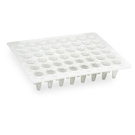 Multiplate™ 48-Well PCR Plates, low profile, unskirted, clear by Bio-Rad product image