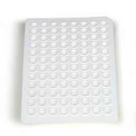 Multiplate™ 96-Well PCR Plates, low profile, unskirted, white by Bio-Rad product image