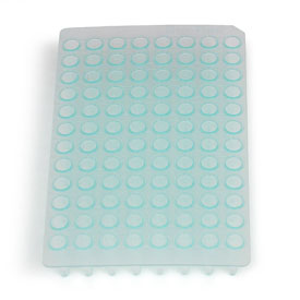 Multiplate™ 96-Well PCR Plates, high profile, unskirted, green by Bio-Rad thumbnail