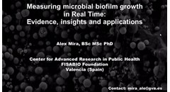 Measuring Microbial Biofilm Growth in Real Time: Evidence, Insights and Applications