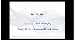 Analysis of asthma inhaler contaminants using AZtecLive and Ultim Max