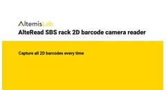 AlteRead SBS rack 2D barcode camera reader