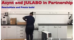 How to Set Up a ReactoMate System Complete with Julabo Presto