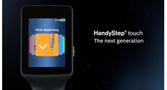 New BRAND HandyStep touch Repeating Pipette