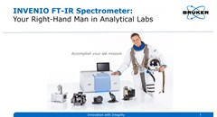 INVENIO FT-IR Spectrometer: Your right-hand man in analytical labs