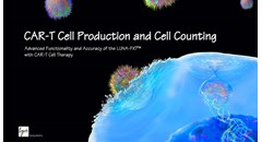 CAR-T cell production and cell counting with the LUNA-FX7™