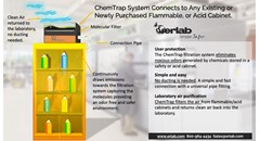 ChemTrap safety cabinet air filtration system