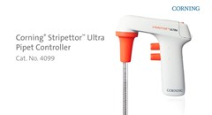 Optimize comfort and sample safety with the Corning Stripettor™ Ultra Pipet Controller